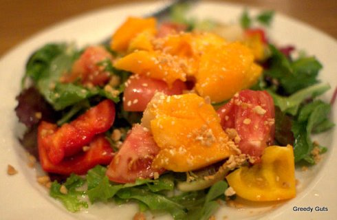 Papaya and Pineapple Salad